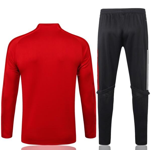 Бавария (FC Bayern Munchen / Munich) Спортивный костюм красный сезон 2020-2021